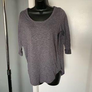 like new Cotton On heather grey/purple shirt 6/$14